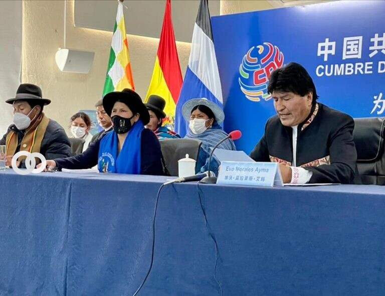 Evo Morales participa en Cumbre del Partido Comunista de China