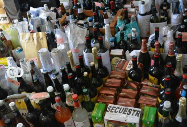 En tres días la Intendencia Municipal decomisó 1.403 bebidas alcohólicas