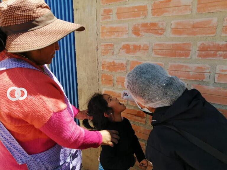 Ministerio de Salud en campaña de protección a las familias