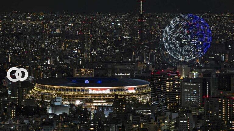 Tokio 2020 y su espectacular despliegue de drones