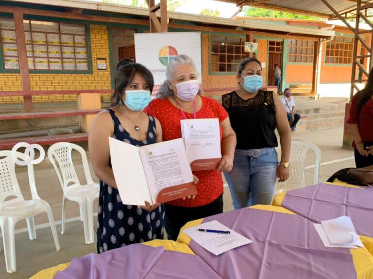 Defensoría del Pueblo firma convenios con Cobija y Porvenir