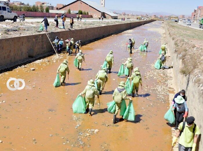 GAMEA promueve campaña de limpieza de los ríos Seco y Sek'e