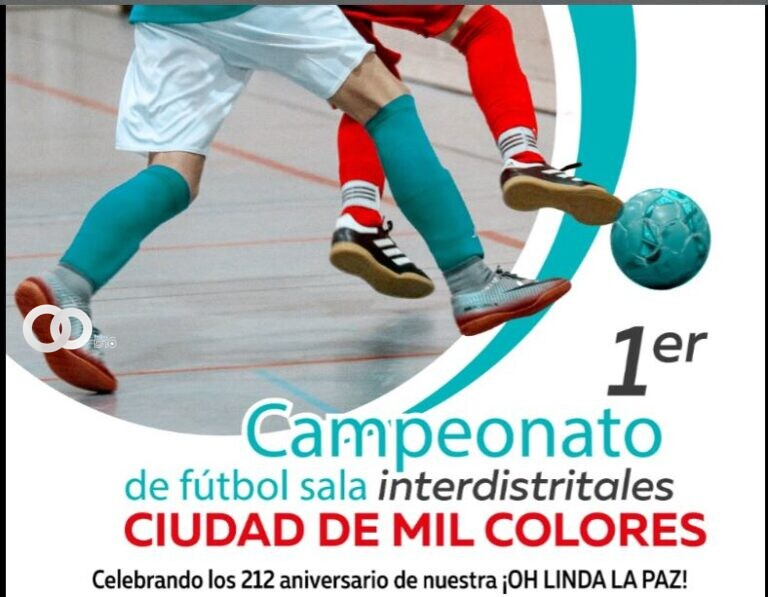 La Paz: Este jueves debutarán los equipos de futsal del Alcalde contra el Gobernador