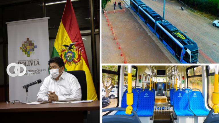 Proyecto del Tren Metropolitano en Cochabamba prevé para septiembre las pruebas piloto