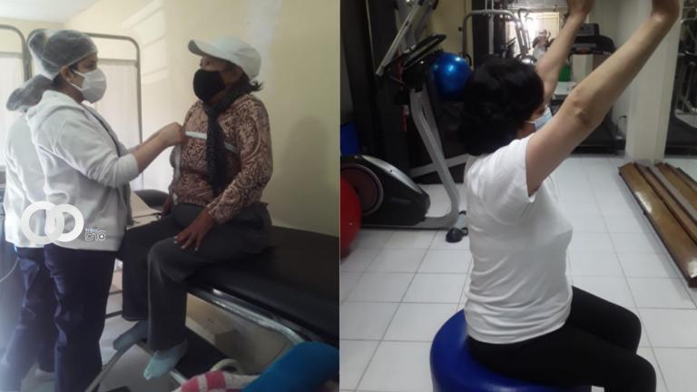 Primera campaña de terapia respiratoria post Covid-19 es dada por el Hospital Los Pinos