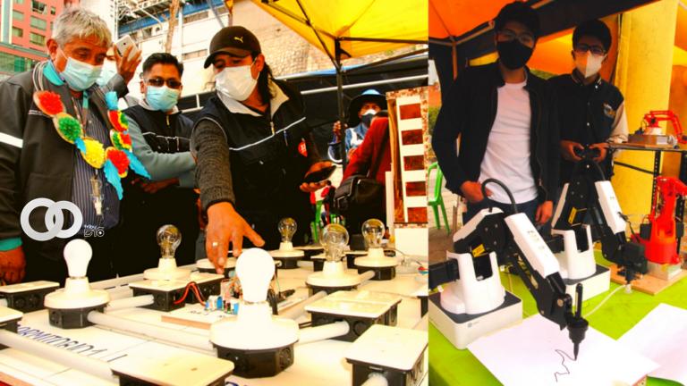 Alcaldía de La Paz llevó a cabo la Feria Tecnológica destacando varios proyectos