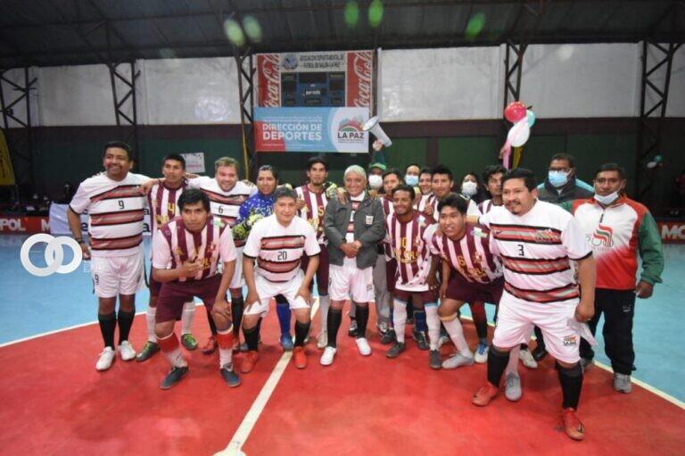 Futsal es impulsado en los macrodistritos de La Paz por el Alcalde Iván Arias
