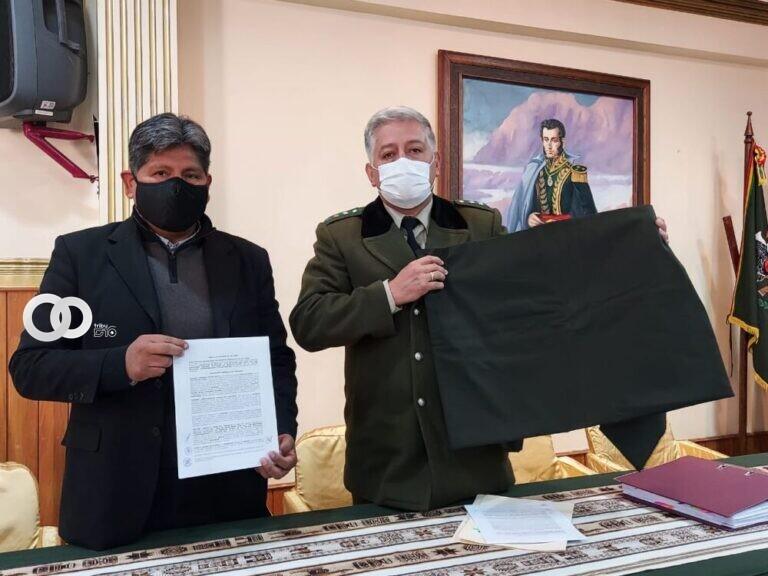Policía Boliviana comprará más de Bs. 6,5 millones en tela a Senatex