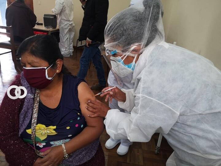Nuevo récord de inmunización contra la Covid-19 en Bolivia