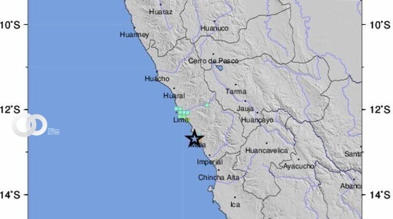 Perú es sacudido por un sismo de 6,1 grados