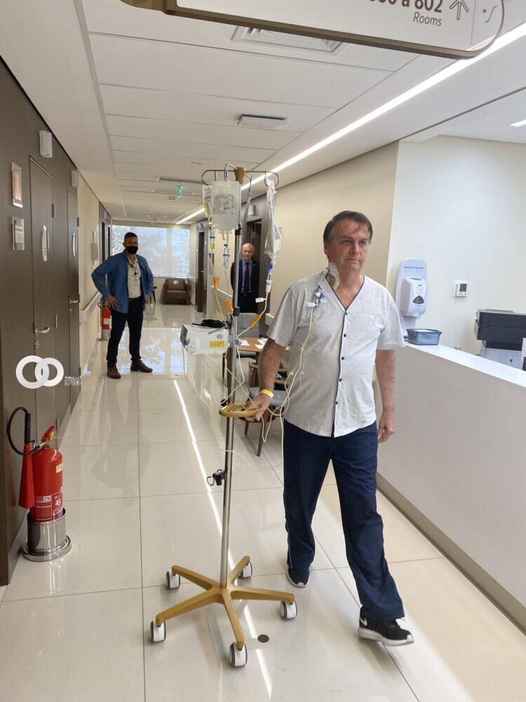 Tras cuatro días de hospitalización, Jair Bolsonaro recibe el alta médica