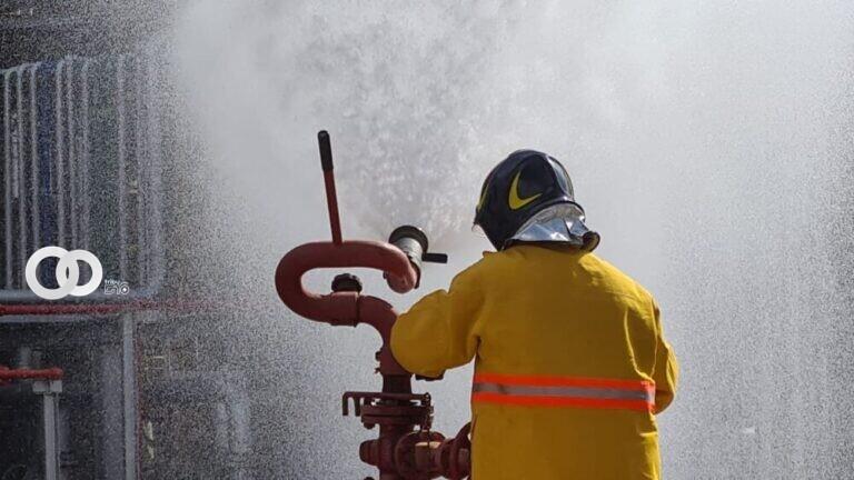 Simulacro de riesgo comprobó que la refinería Gualberto Villarroel cumple con todas las medidas de seguridad