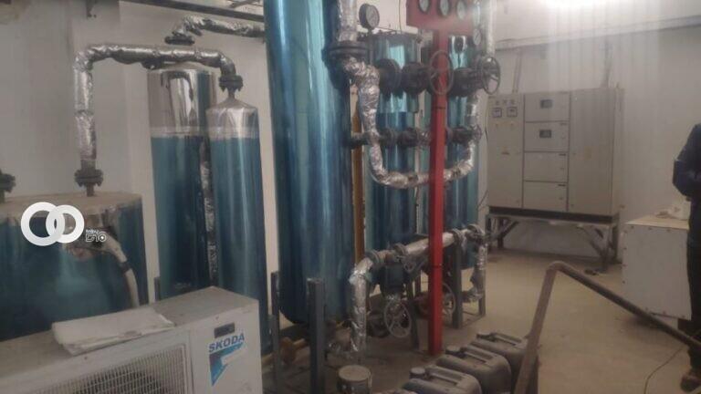 Planta de oxigeno de Chuquisaca entra en operaciones después de cinco años