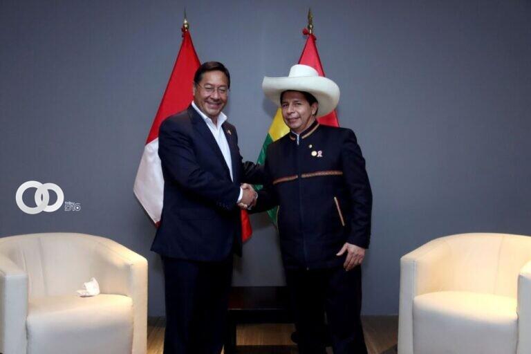 Arce y Castillo acuerdan reunión para reactivar el tren bioceánico