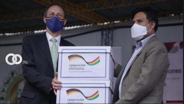 Bolivia analizará la respuesta inmunológica de las vacunas anticovid con apoyo de Alemania