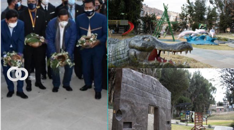 Hoy se abre las puertas al Parque de las Culturas y de la Madre Tierra en la ciudad de La Paz
