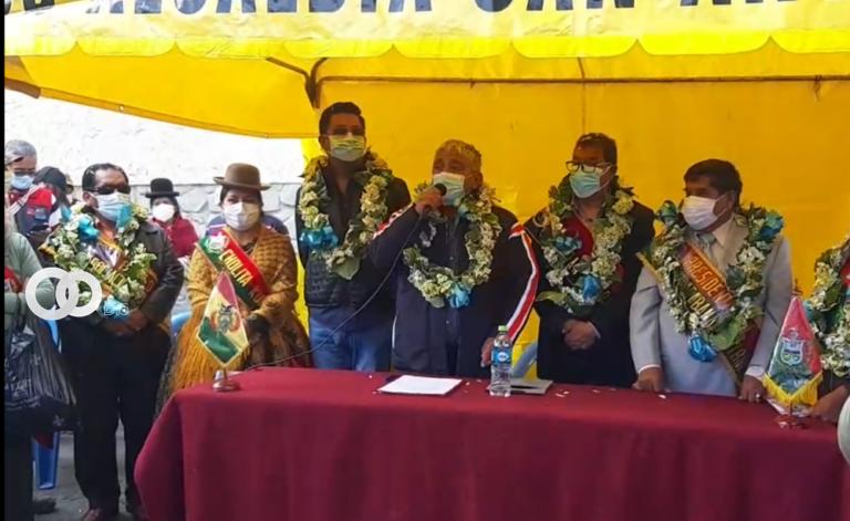 """Alcaldía de La Paz entregó diez """"Islas Verdes"""" para reciclaje de residuos sólidos"""