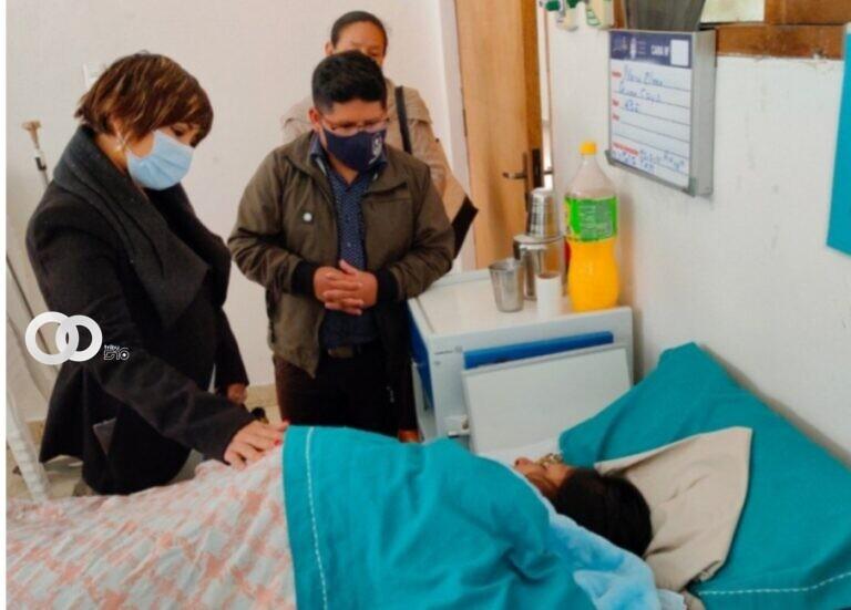 Lotería Nacional cubrirá gastos medicos para los pacientes del accidente de tránsito en Potolo-Sucre