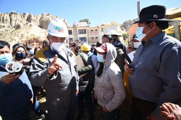 Alcaldía paceña pidió el desalojo a familias asentadas de manera ilegal en área verde municipal