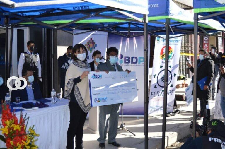 Santa Cruz: BDP coordinó con más de 350 productores agropecuarios para su reactivación económica