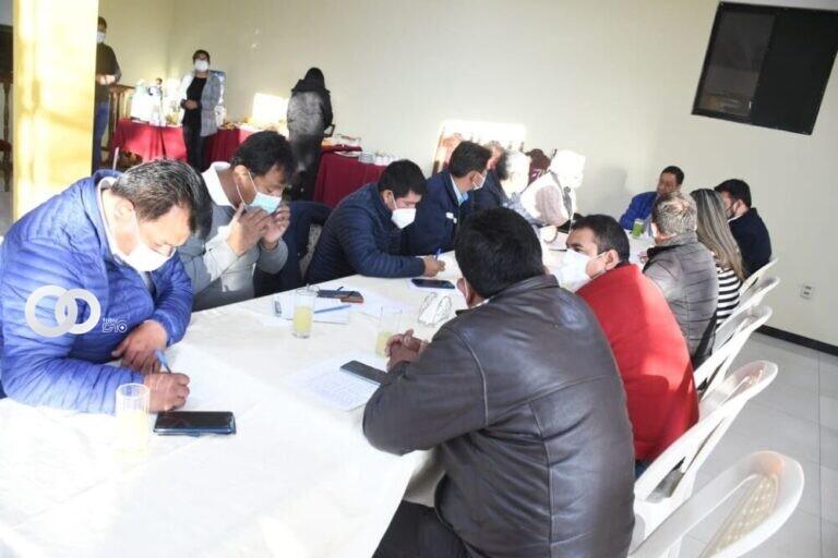 Gobierno y municipios coordinaron acciones para luchar contra la pandemia