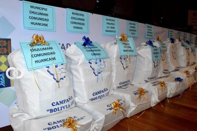 70.235 libros fueron recolectados en tres meses de campaña por Bolivia Lee
