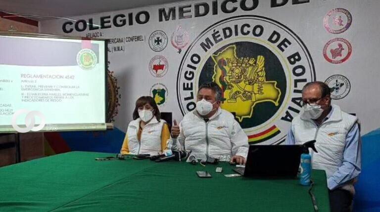Médicos piden diálogo y advierten desacato al reglamento de Ley de Emergencia Sanitaria