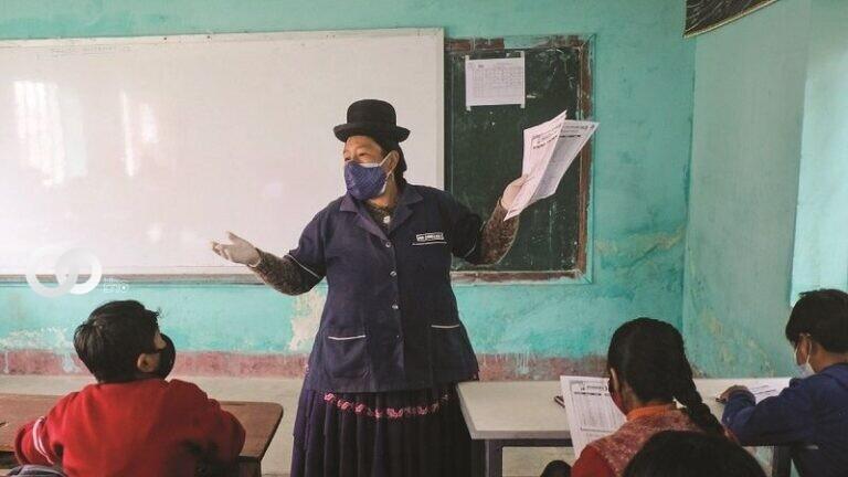 Educación asegura que más de 3.500 escuelas retomaron clases presenciales en Bolivia