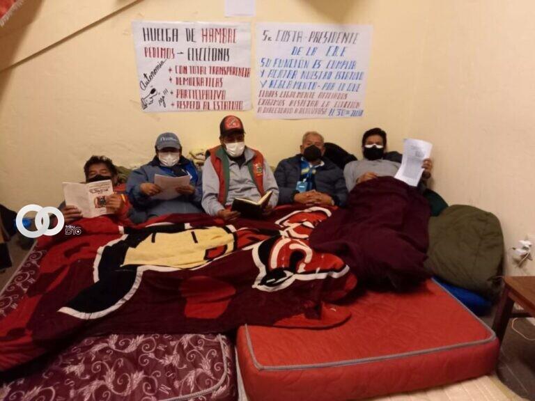 Dirigentes de clubes en huelga de hambre para pedir elecciones en la AFLP