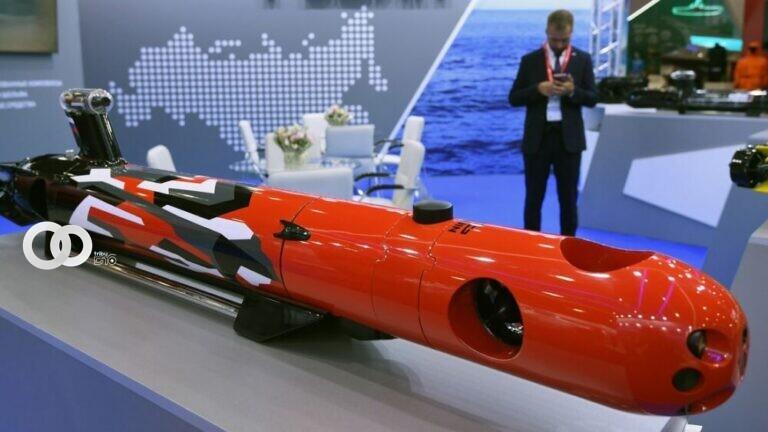 Rusia comenzó pruebas de submarino robótico 'detector' de sumergibles enemigos