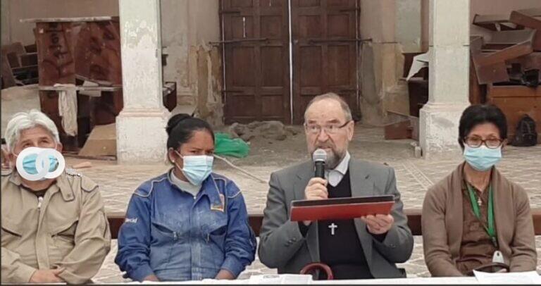 Chuquisaca: Parroquia y Consejo Parroquial de Camargo planean la restauración del Templo de Camargo