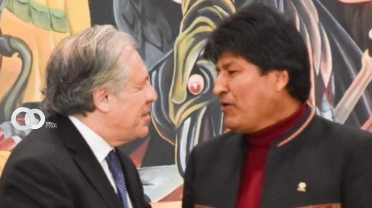 Almagro propone que una instancia internacional resuelva el cumplimiento de la auditoría electoral