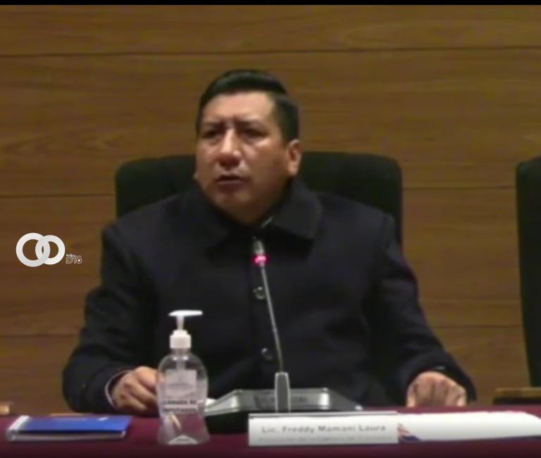 Presidente de Diputados anuncia instructivo para que Diputados saluden en idioma nativo