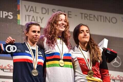 Bicicrossista paceña consigue el tercer lugar en Campeonato Mundial Four Cross