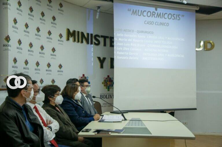 Tratamiento exitoso del primer paciente con hongo negro en Bolivia