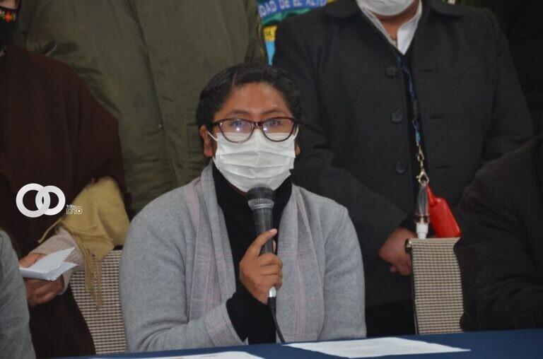 Eva Copa, Alcaldesa de la ciudad de El Alto