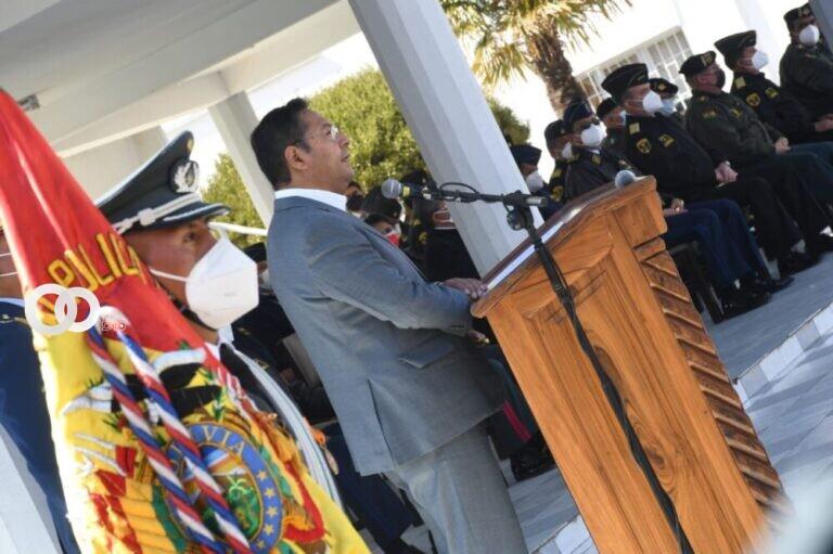 Presidente Arce pide que la justicia sea aplicada para el caso Golpe de Estado