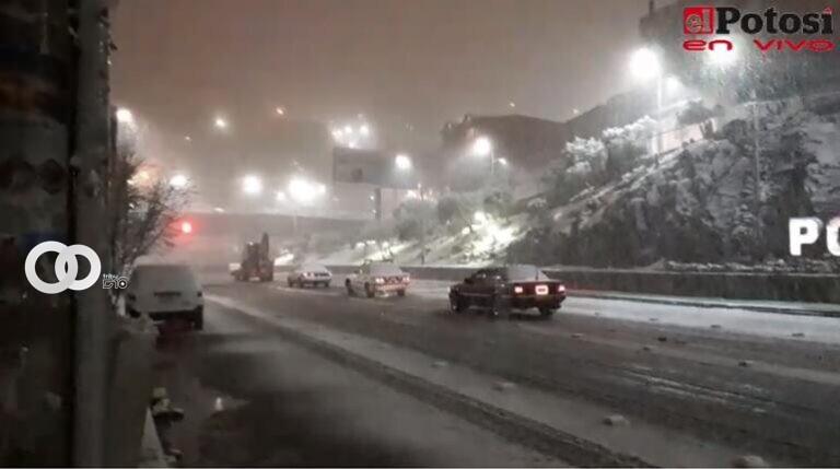 Suspenden salidas hacia Potosí por nevada