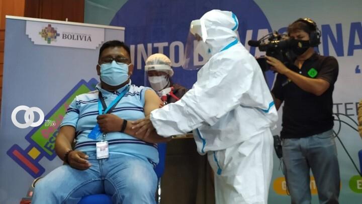 Cochabamba vacunó al 40% de su población