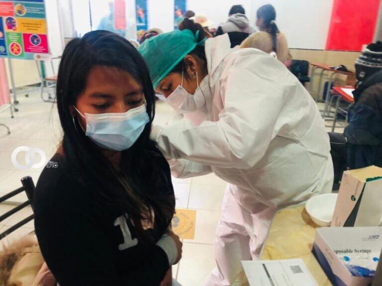 Vacunación anticovid será intensificado en la ciudad de El Alto