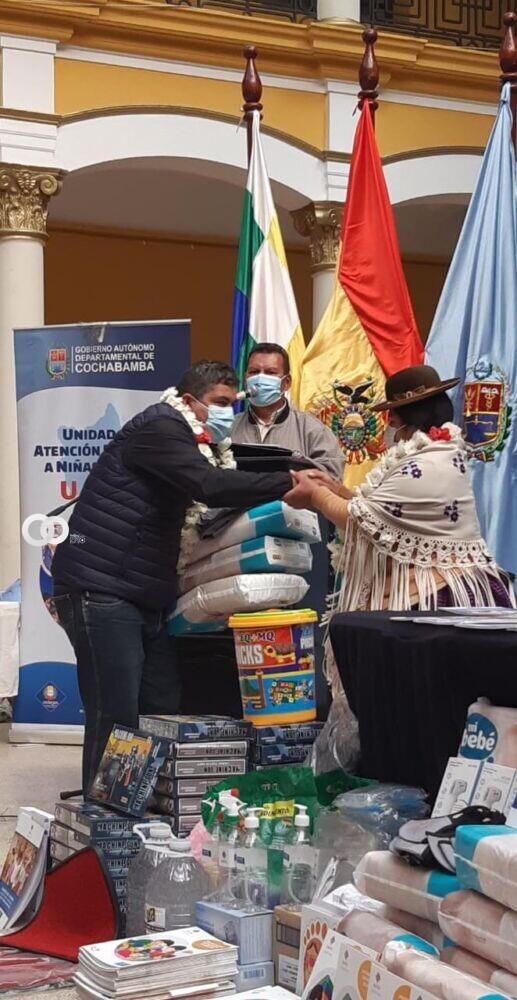 Ministerio de Justicia realizó aportes a los centros infantiles en Cochabamba