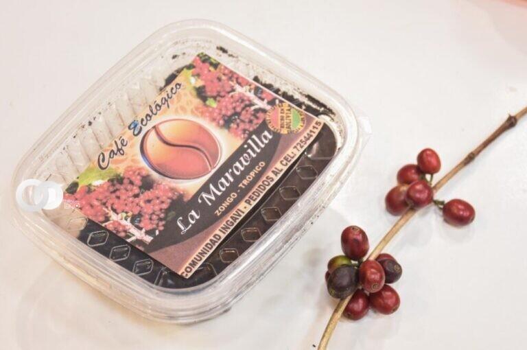 """Promocionan la marca """"Café Zongo"""" hecho por productores paceños"""