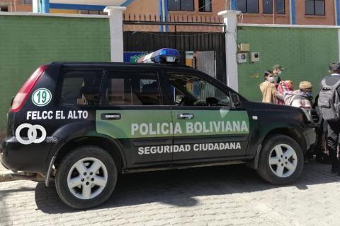 Policía aprende a un sujeto que intentó forzar un cajero automático