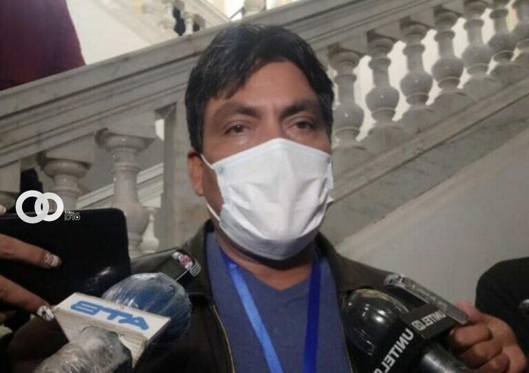 Héctor Arce advierte que Camacho y aliados pretenden generar conflictos