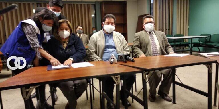 Alcalde de La Paz es denunciado por negarse a dotar materiales logísticos para puntos de vacunación