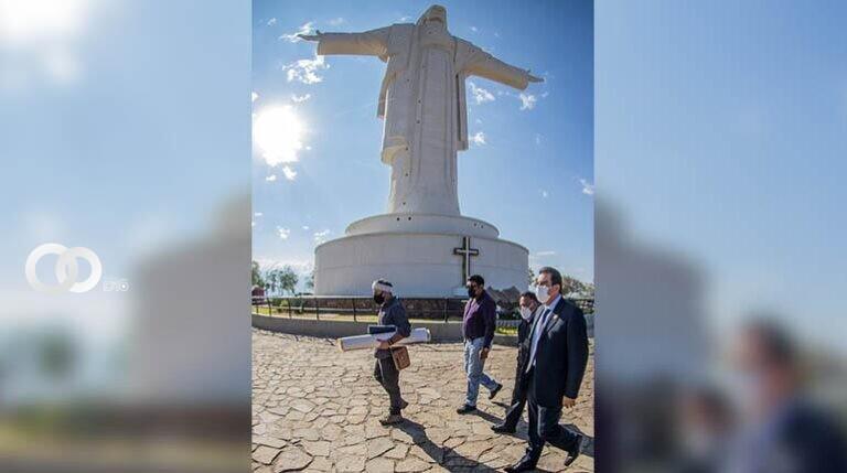 Anuncian mejoras y más imágenes religiosas en Cristo de la Concordia