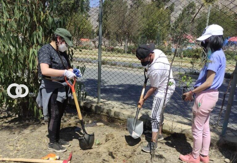Bioparque Vesty Pakos fue limpiado y mejorado gracias a estudiantes de San Calixto