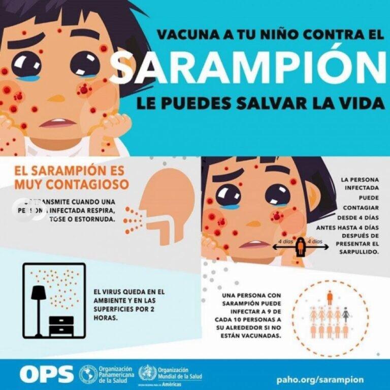Campaña de vacunación contra el sarampión y polio se intensifican en Tarija para menores de seis años