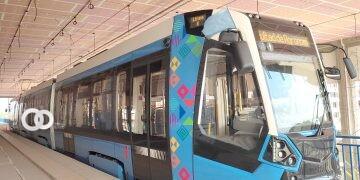 Dan inicio a las pruebas técnicas del Tren Metropolitano de Cochabamba