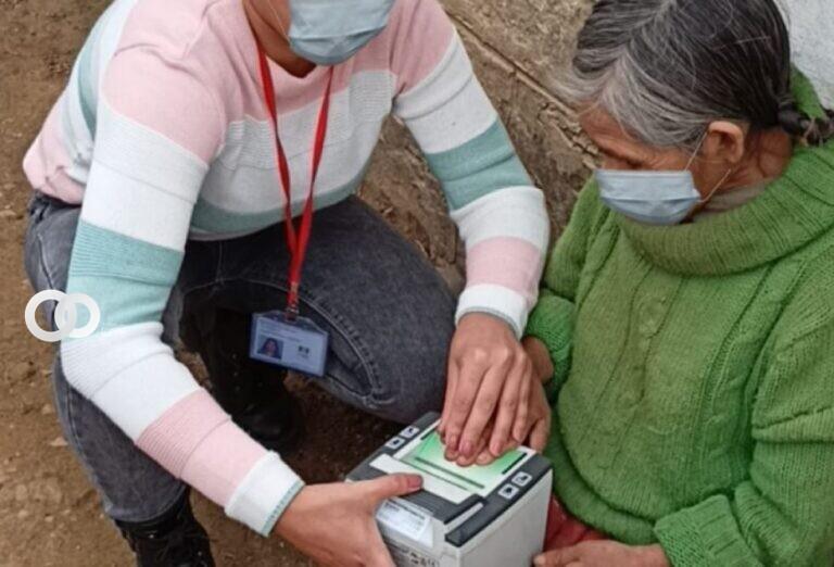 SERECÍ de Tarija realizó campañas de registro para comunidades indígenas de esta región